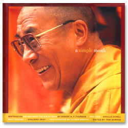 Image for A Simple Monk: Writings on His Holiness the Dalai Lama