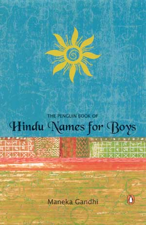 Image for The Penguin Book of Hindu Names for Boys
