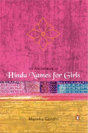 Image for The Penguin Book of Hindu Names for Girls