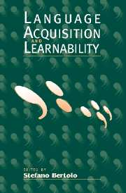 Image for Language Acquisition and Learnability