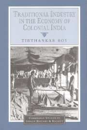 Image for Traditional History in the Economy of Colonial India (The New Cambridge History of India)