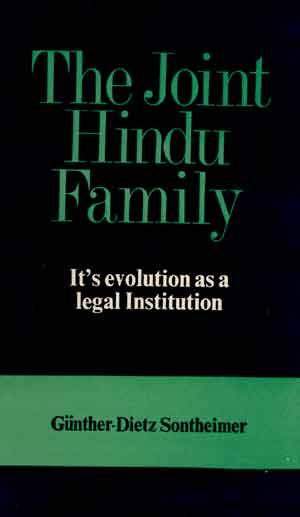 Image for The Joint Hindu Family: Its evolution as a legal Institution