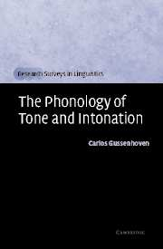 Image for The Phonology of Tone and Intonation