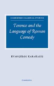 Image for Terence and the Language of Roman Comedy