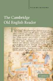 Image for The Cambridge Old English Reader