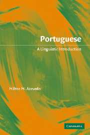 Image for Portuguese: A Linguistic Introduction