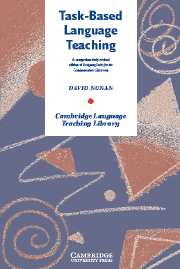Image for Task-Based Language Teaching