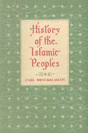 Image for History of the Islamic Peoples