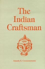 Image for The Indian Craftsman: with a foreword by Alvin C. Moore, Jr.