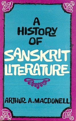 Image for A History of Sanskrit Literature