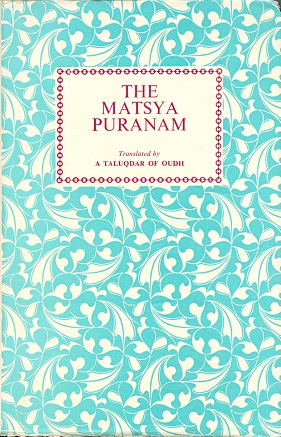 Image for The Matsya Puranam